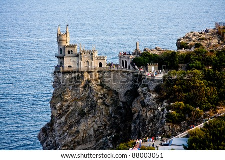 Castle Swallow's Nest near Yalta