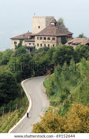 Castle Thurnstein (Merano) - stock photo
