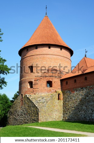 Castle Tower  - stock photo