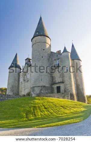Castle Veves, Belgium - stock photo