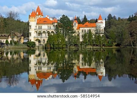 castle Zinkovy - stock photo