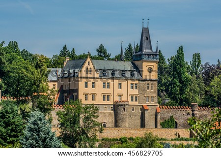 Castle Zruc nad Sazavou, Czech republic