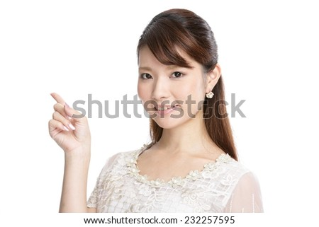 Casual business woman - stock photo