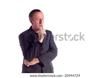 casual businessman - stock photo