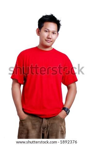 Casual guy - stock photo