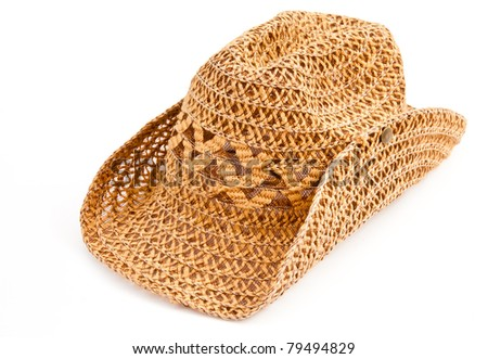 casual handmade hat for sunlight protection