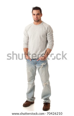 Casual Man - stock photo