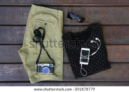 Casual man outfit  - stock photo