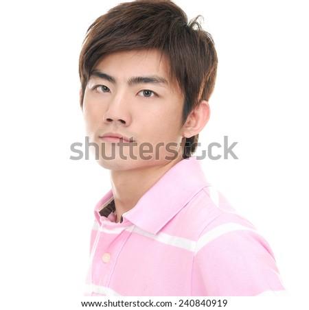 casual man portrait  - stock photo