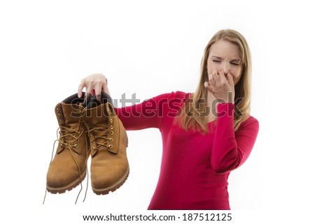 casual women standing taking in the studio against a white background - stock photo