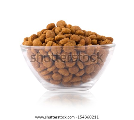 cat food - stock photo