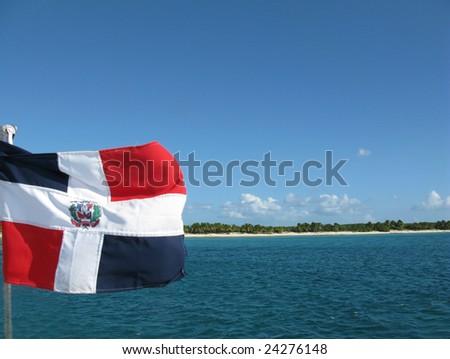 Catalina island, Dominican Republic - stock photo