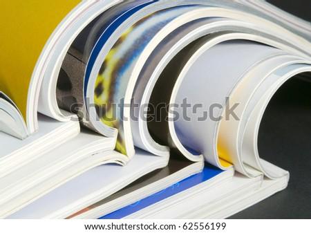 catalogs - stock photo