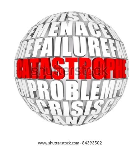 catastrophe - stock photo