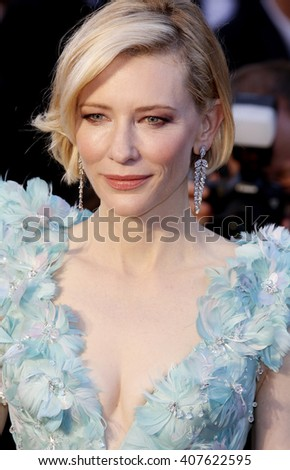 Cate Blanchett at the 88th Annual Academy Awards held at the Dolby Theatre in Hollywood, USA on February 28, 2016. - stock photo