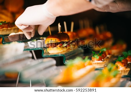 Catering Service Finger Bites Food Buffet