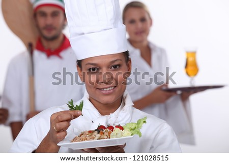 Catering trades - stock photo