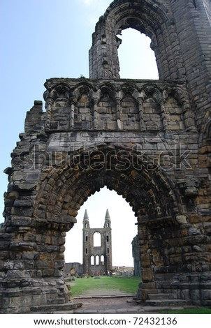 Cathedral Arch - stock photo