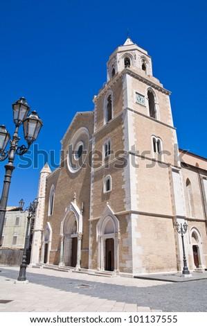 Cathedral Basilica. Lucera. Puglia. Italy. - stock photo