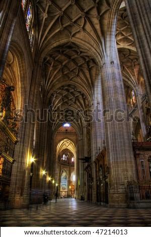 Cathedral de Segovia - stock photo