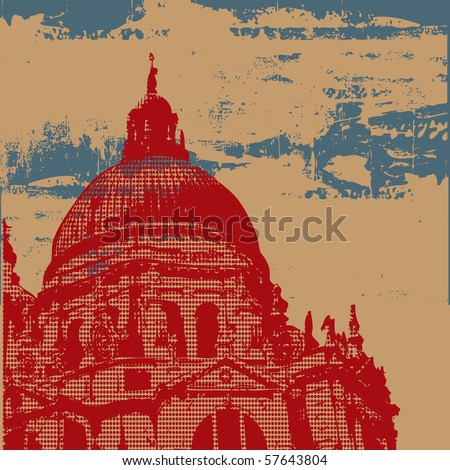 Cathedral Grunge Bitmap Background