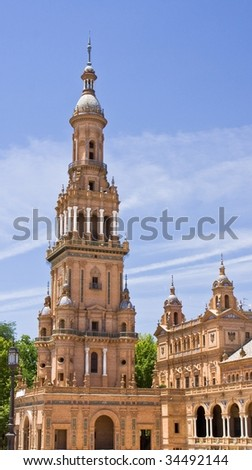 Cathedral in place of Spain in Seville