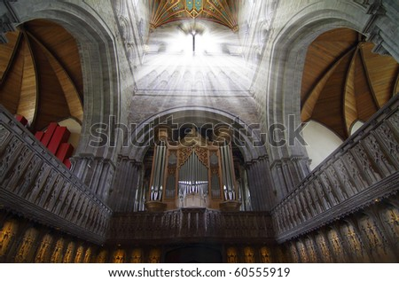 Cathedral Light - stock photo