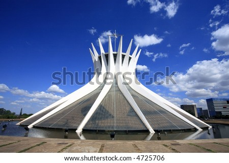 cathedral of brasilia city capital of brazil