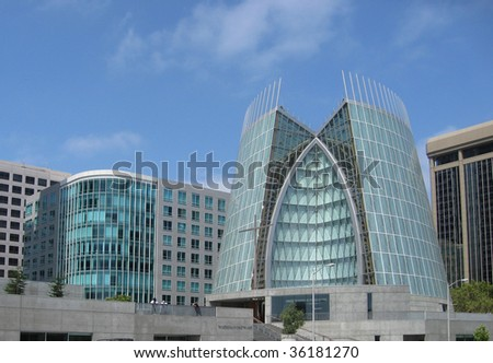 Cathedral of Christ the Light, Oakland, California - stock photo