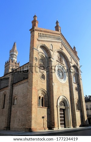 "cathedral of ""Crema"" town in northern Italy /church"