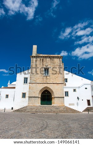 Cathedral of Faro  - stock photo