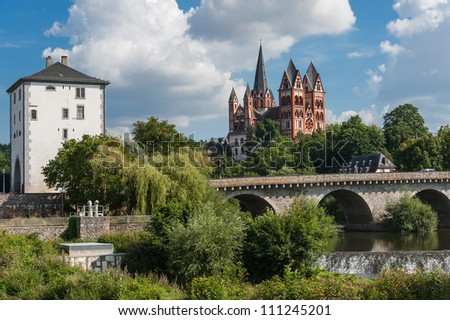 Cathedral of Limburg/Germany - stock photo
