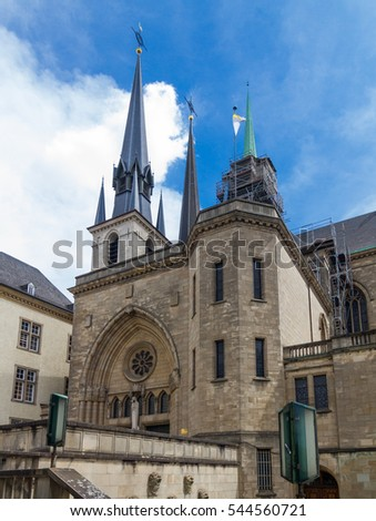 cathedral of Luxembourg