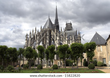 Cathedral of Orleans, France