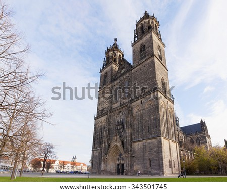Cathedral of Saints Catherine and Maurice at Magdeburg