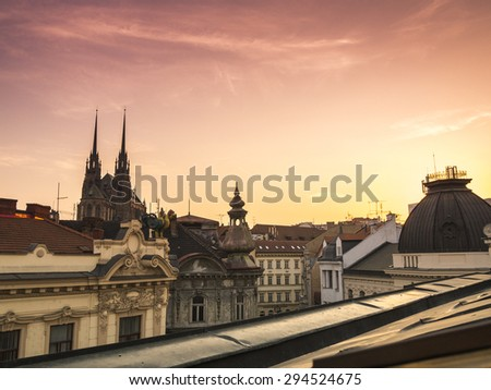 Cathedral of Saints Peter and Paul, Brno, Czech Republic