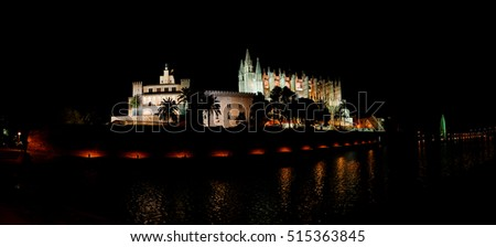 Cathedral of Santa Maria of Palma, more commonly referred to as La Seu, is Gothic Roman Catholic cathedral located in Palma, Majorca, Spain, built on site of a pre-existing Arab mosque.