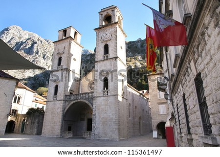 Cathedral of St Tryphon in Kotor, Montenegro