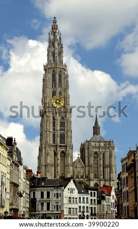 Cathedral of the Mother of god. Antwerp. Belgium