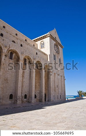 Cathedral of Trani. Puglia. Italy.