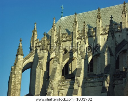 Cathedral Shadow - stock photo