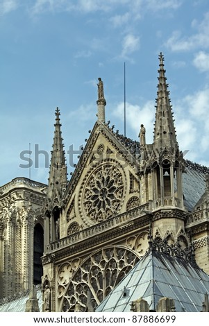 Architecture Of Middle Age Gothic Cathedral