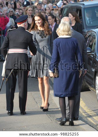 Catherine Duchess of Cambridge attends the Prince's Foundation for Children and The Arts event, London, UK. March 15, 2012, London, UK Picture: Catchlight Media / Featureflash - stock photo