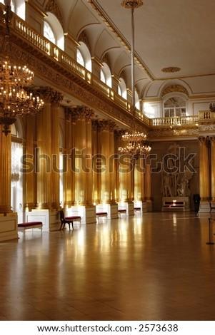 Catherine's Palace, Pushkin, Saint Petersburg, Russia - stock photo