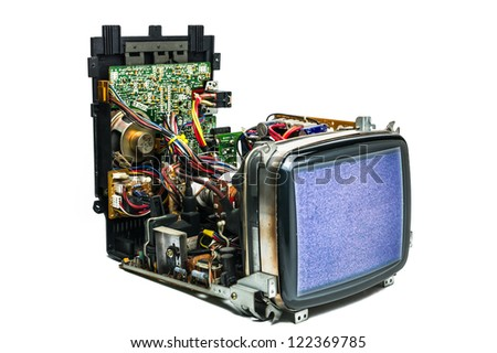 Cathode-ray tube television
