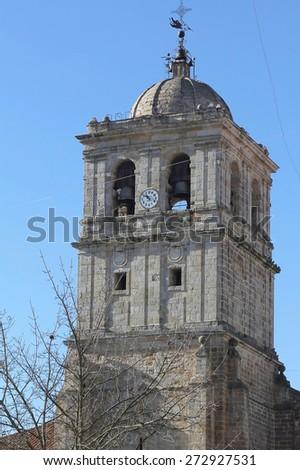 Catholic Church in the city of Palencia Spain - stock photo
