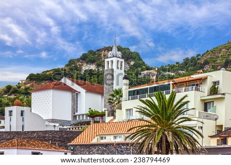 Catholic church, Madeira island, Portugal