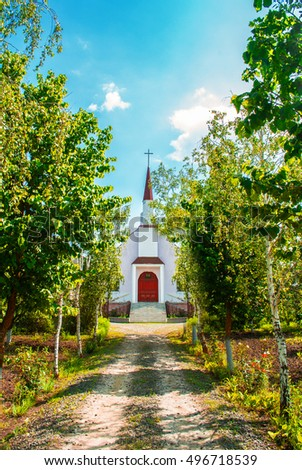 Country Church Stock Images Royalty Free Images Vectors Shutterstock