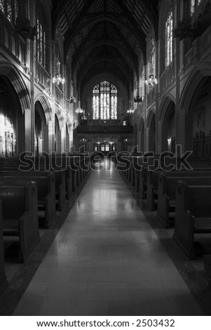 Catholic Sanctuary - stock photo
