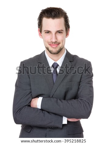 Caucasian businessman portrait
